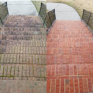 martinez brick entry cleaning